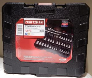 0f3fb9f1fd8 Craftsman 42 pc (1 4 and 3 8-inch) Drive Bit and Torx Bit Socket Wrench Set  ( 94)